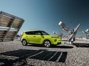 New Kia Soul EV electrifies Los Angeles on world debut