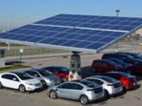 Envision Solar EV ARC featured at SF Chevrolet Bolt launch promotion