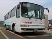 Toshiba to test contactless charger on electric bus