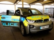 Metro Police testing BMW i3 Range Extender for use in London