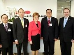 Scottish First Minister welcomes SDIC to Scotland
