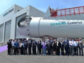 Siemens Gamesa offshore wind turbine nacelle assembly facility in Taiwan starts regular operations