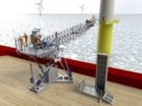 Ampelmann launches people and cargo transfer system for offshore wind industry