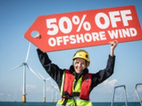 Government figures reveal breakthrough moment for UK offshore wind says Greenpeace