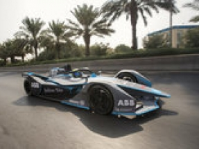Felipe Massa drives the first all-electric lap in Saudi Arabia to launch Saudi Ad Diriyah E-Prix