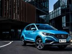 MG ZS electric vehicle makes European debut at Leasing.com London Motor & Tech Show