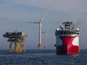 Scotland's largest offshore wind farm opened by HRH The Prince of Wales