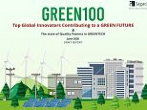 Sagacious IP produces draft report on green technology patents