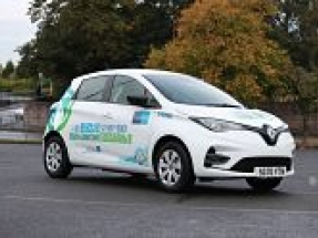 South Lanarkshire Council orders 141 all-electric new Renault Zoes