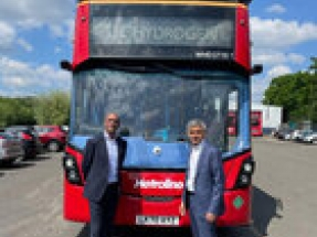 Mayor of London launches England's first hydrogen double deckers