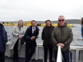 MPs visit EMEC to see evidence of marine energy in action