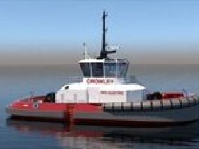 Crowley Maritime Corporation to build and operate the first US fully electric tugboat