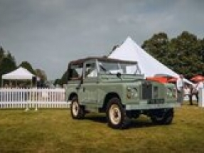 Everrati presents its Electric Land Rover Series IIA at Concours of Elegance 2021