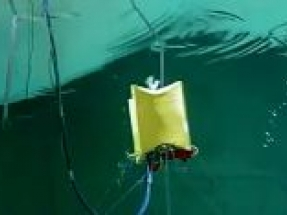 Laminaria's wave energy converter completes tank testing at Plymouth University