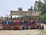 Upsolar supports Bangladeshi community school