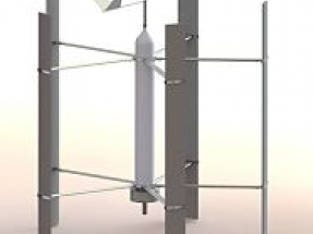 Development of Vertogen Vertical Axis Wind Turbine project moves to Phase II