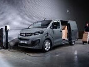 Vauxhall releases first pictures of its Vivaro-e electric van