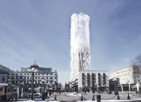 Strawscraper, a new concept in urban energy generation