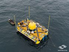 Marine Power Systems completes testing and sea trials of WaveSub device