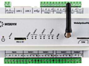 Webdyn to present WebdynSunPM data concentrator at Intersolar
