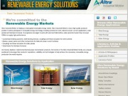 Altra Industrial Motion launches website for the renewable energy industry