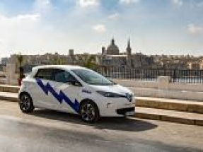Malta's first car-sharing club features 150 all-electric Renault Zoes