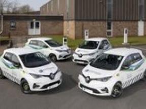 SSE introduces Renault Zoe Van E-Tech 100 percent electric to its commercial vehicle fleet