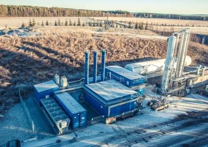Biogas liquefaction plant to power buses in Norway