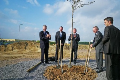 Foundation stone laid for major biogas facility in Flanders