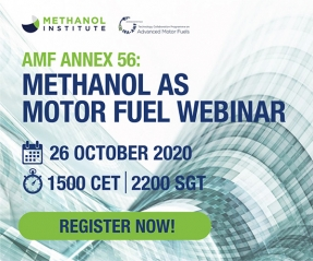 Methanol could be the motor fuel of choice to meet future transport energy demand