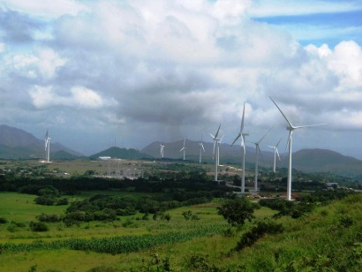 Largest wind farm in Central America switched on