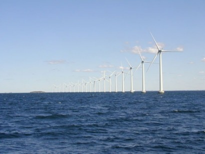 Spain launches its first prototype offshore wind turbine