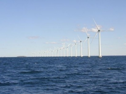 Work underway on offshore wind farm opposed by Donald Trump