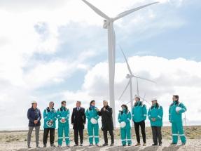 Chubut: Inauguran la primera fase del parque eólico Manantiales Behr