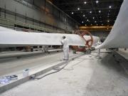 Port of Galveston, Texas handles 53-meter wind turbine blades
