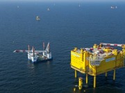 Siemens installs two offshore platforms for TenneT in the North Sea in July