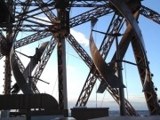 Two wind turbines installed as part of Eiffel Tower renovation