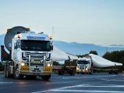 Siemens wind technology hits the road for Snowtown II wind farm
