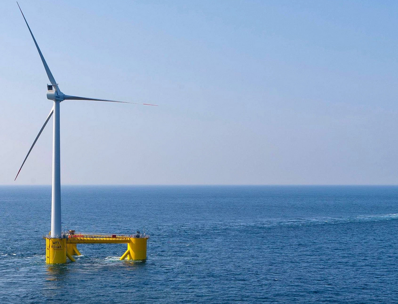 La gallega Greenalia proyecta cuatro nuevos parques eólicos marinos flotantes en Canarias