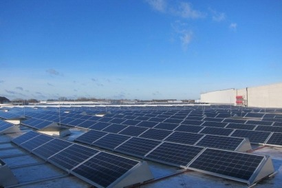 solarSTEP group, Frontier Renewables complete 1-MW rootop array