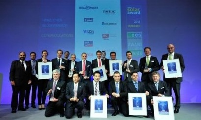 Winners of the Intersolar AWARD 2014 announced