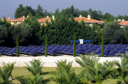 Innotech Solar supplies PV modules to an environmentally friendly winery in Turkey
