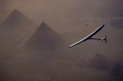 Bad weather in Egypt delays last leg of history-making solar flight