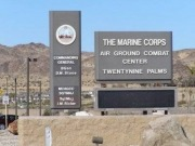 Marine Corps installs solar system at combat centre in California