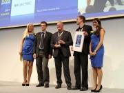 EV charging system receives prestigious Intersolar Award 2011