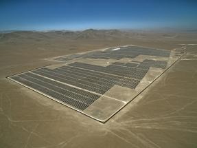 Antofagasta: Inauguran una planta fotovoltaica de 57,6 MWp