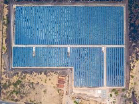 Inauguran la primera de las diez plantas fotovoltaicas del proyecto Bósforo