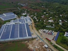 Instalan la mayor instalación fotovoltaica sobre cubierta del país