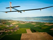 Solar-powered aircraft making bid to complete 1st intercontinental flight