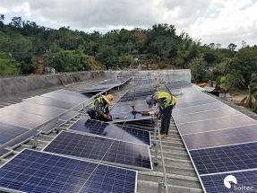 Soltec dona equipamiento solar tras el huracán María
